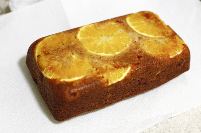 Orange-Currant Poppyseed Bread