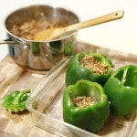 stuffed green bell peppers
