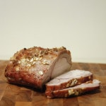 maple glazed pork