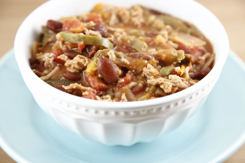 Wicked Hot Turkey Chili