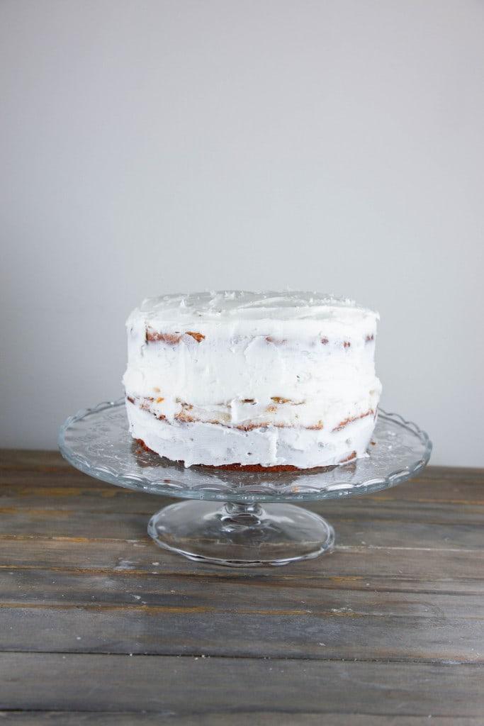 White chocolate Marmalade Cake