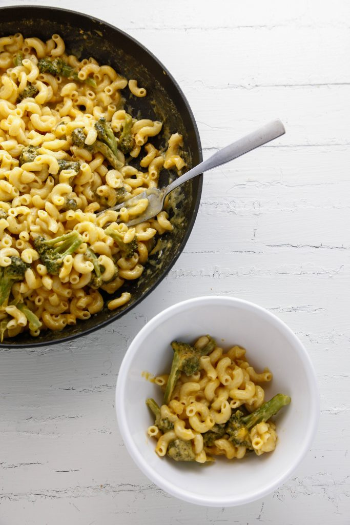 Broccoli Cheddar Mac and Cheese_-5