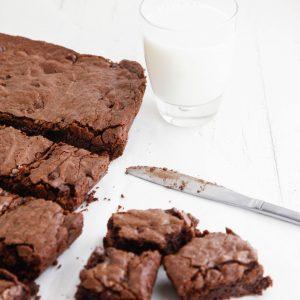 Double Chocolate Fudge Brownies