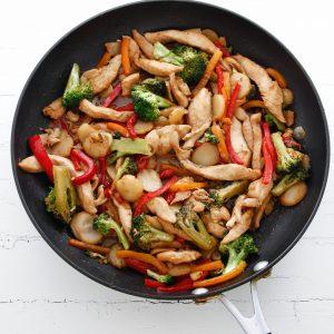 Spicy Orange Chicken Stir Fry