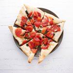 Parmesan and Tomato Flatbread
