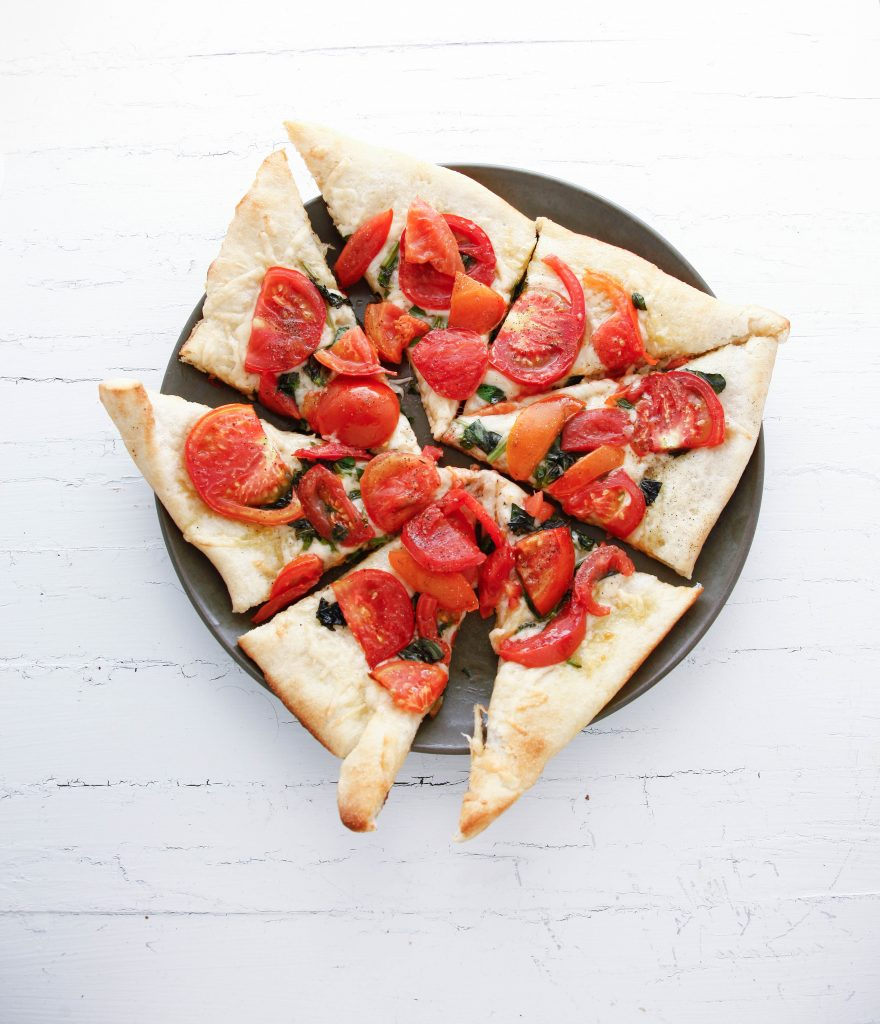 Parmesan and Tomato Flatbread