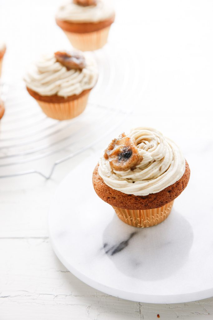 Bannanas Foster Brown Sugar Cupcakes_-10