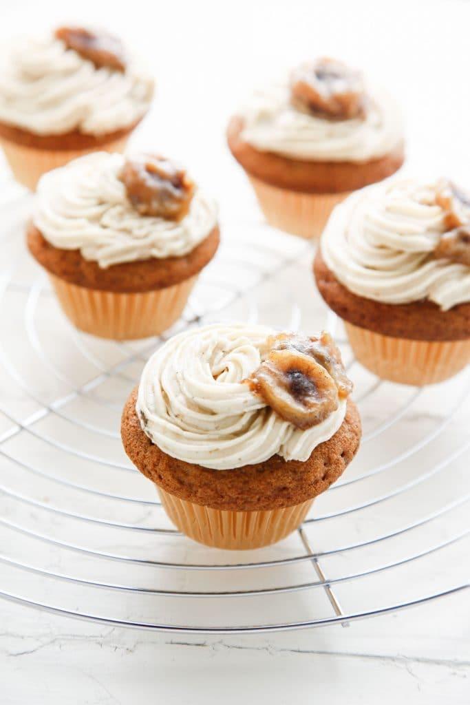 Bannanas Foster Brown Sugar Cupcakes_-4