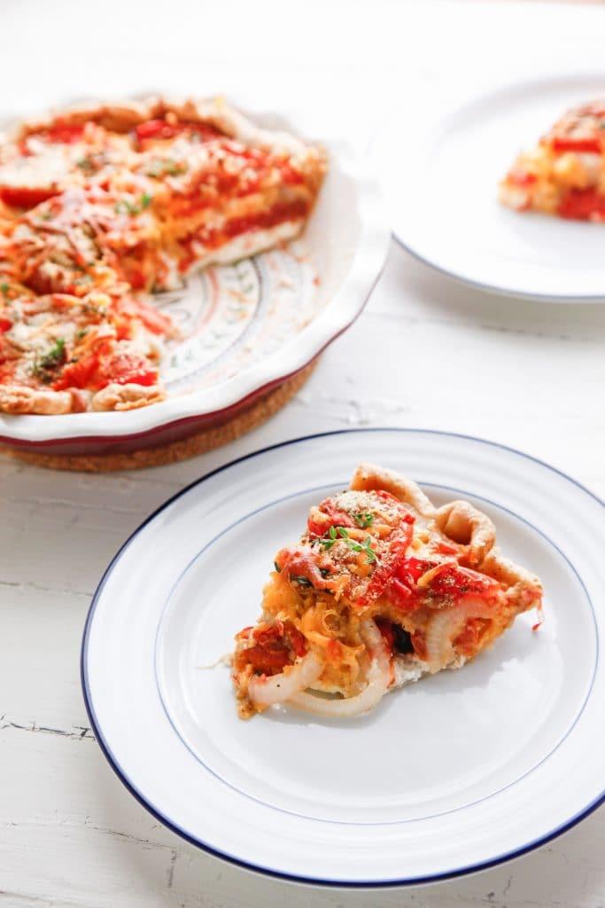Heirloom Tomato and Veggie Pie_-10