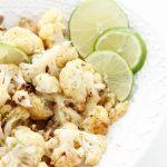 Honey Lime Cauliflower