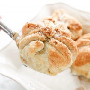 Puff Pastry Apple Walnut Dumplings