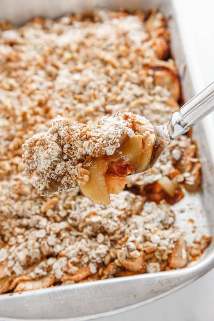 Oatmeal Apple Pear Crisp