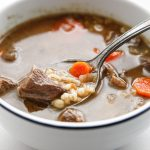 Dutch Oven Beef and Barley Soup