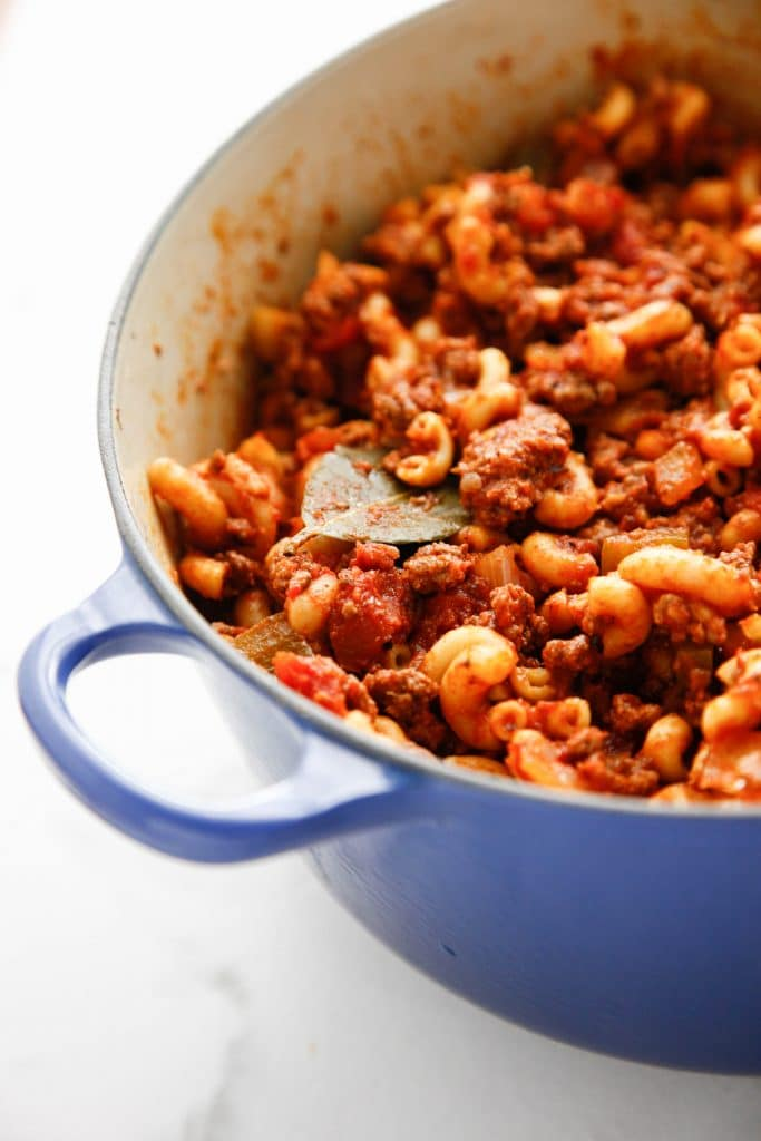 American chop suey aka goulash the brooklyn cook save forumfinder Choice Image