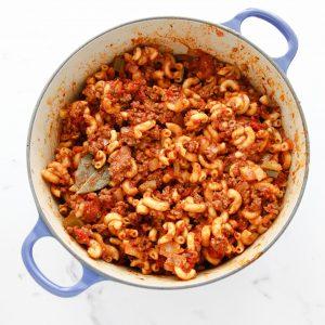 American Chop Suey aka Goulash