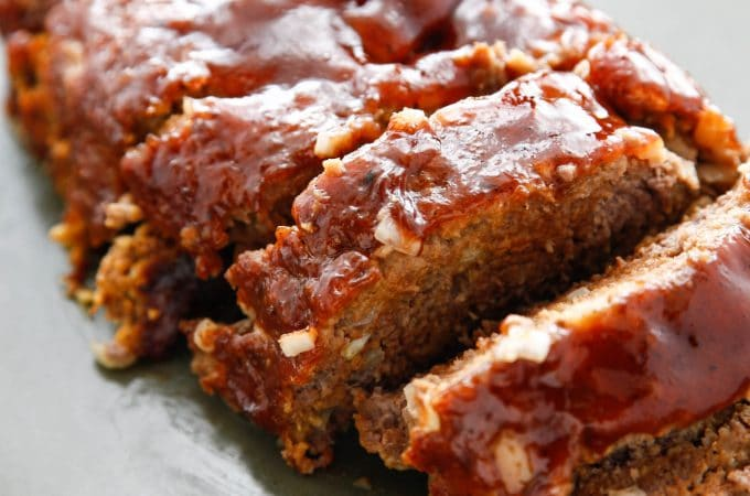 Saucy BBQ Meatloaf