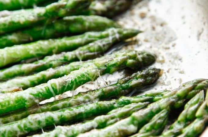 Brown Butter Parmesan Asparagus