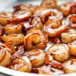 Honey Brined BBQ Shrimp