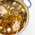Dutch Oven Bacon Coq au Vin