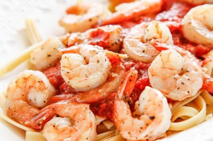 Spicy Shrimp Fra Diavolo