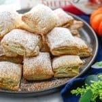 Puff Pastry Pumpkin Pie Bites