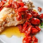 Chicken Breast with Roasted Tomatoes and Garlic